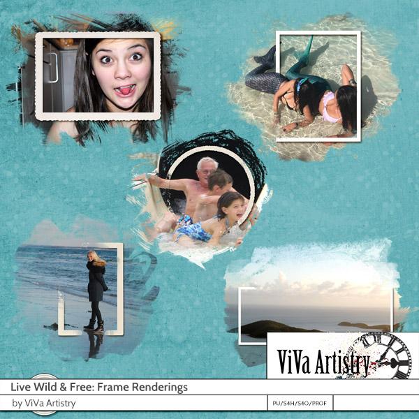 Live Wild & Free: Frame Renderings