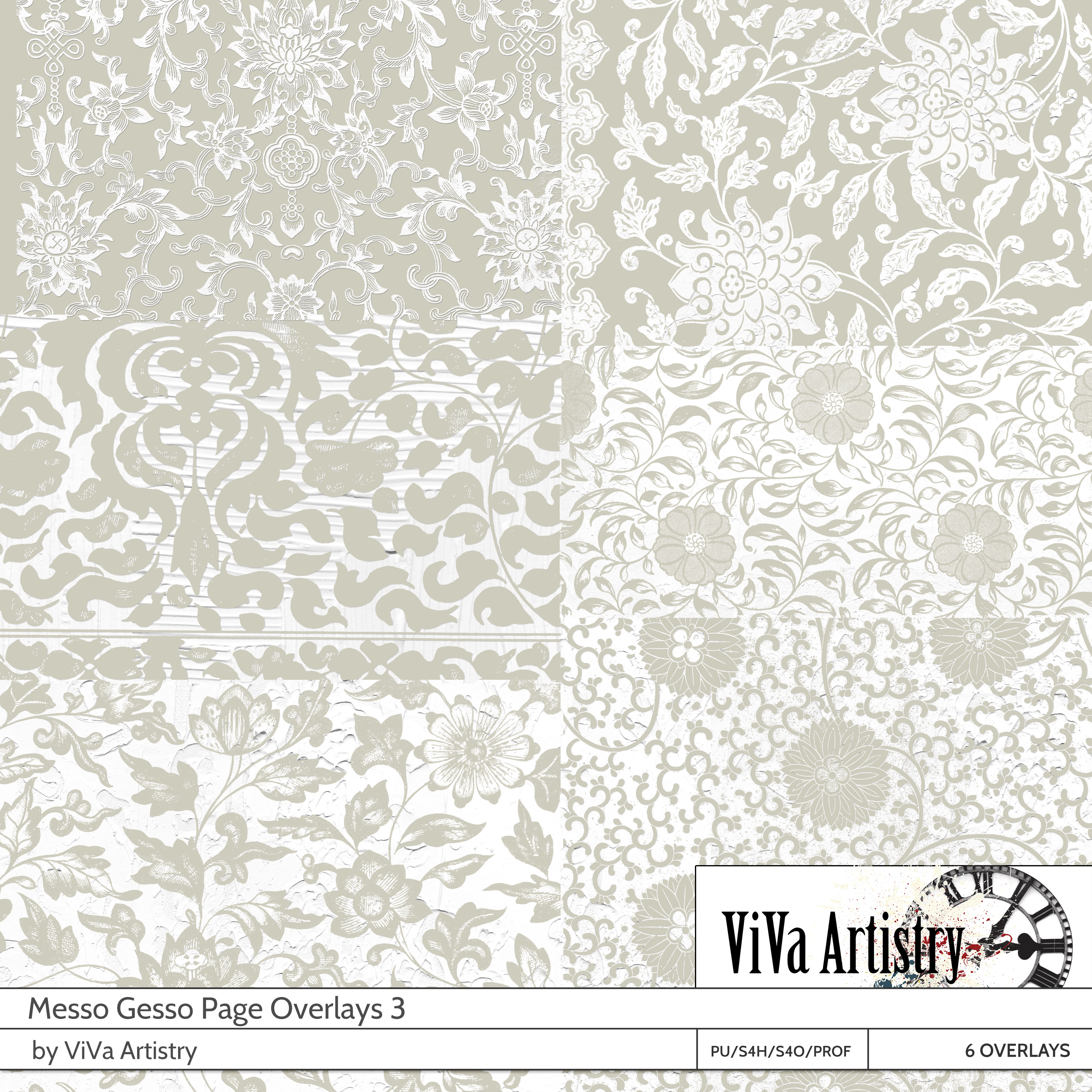 Messo Gesso: Page Overlays 3