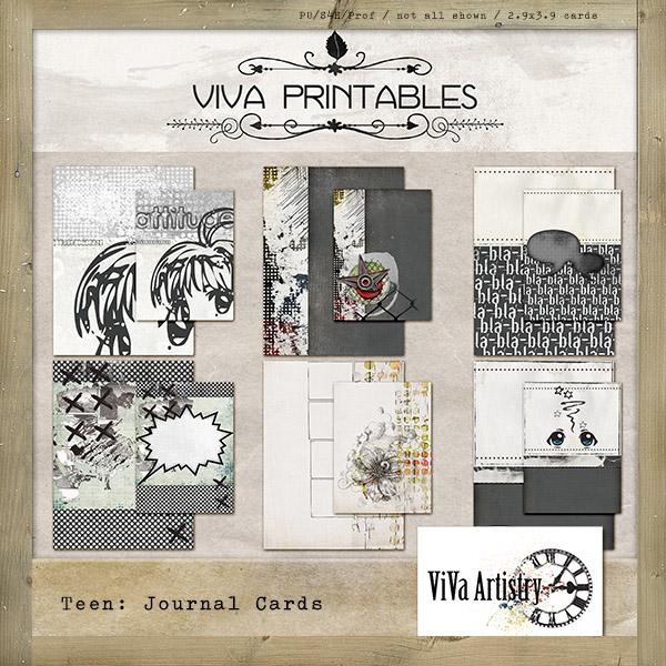 Teen: Journal Cards