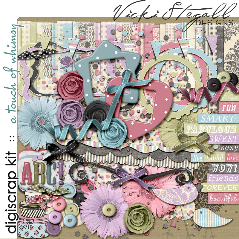 A Touch of Whimsy {full kit}