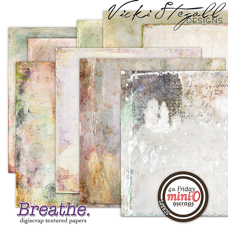 Breathe - Textured Papers