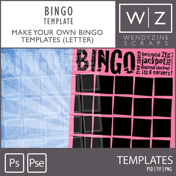 TEMPLATE: BYO Bingo