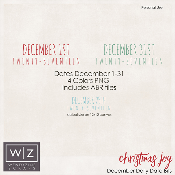 Christmas Joy December Album Dates