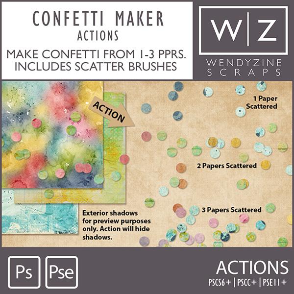 ACTION: Confetti Maker