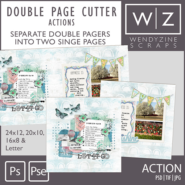 ACTION: Double Page Cutter