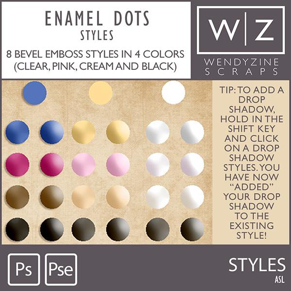 STYLES: Enamel Dots Basics