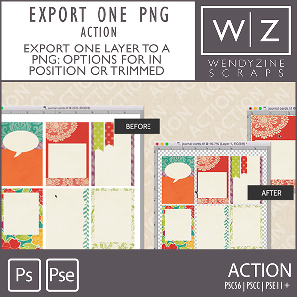 ACTION: Export One PNG