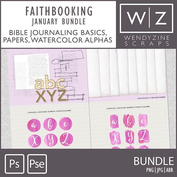 FAITHBOOKING: January Bundle