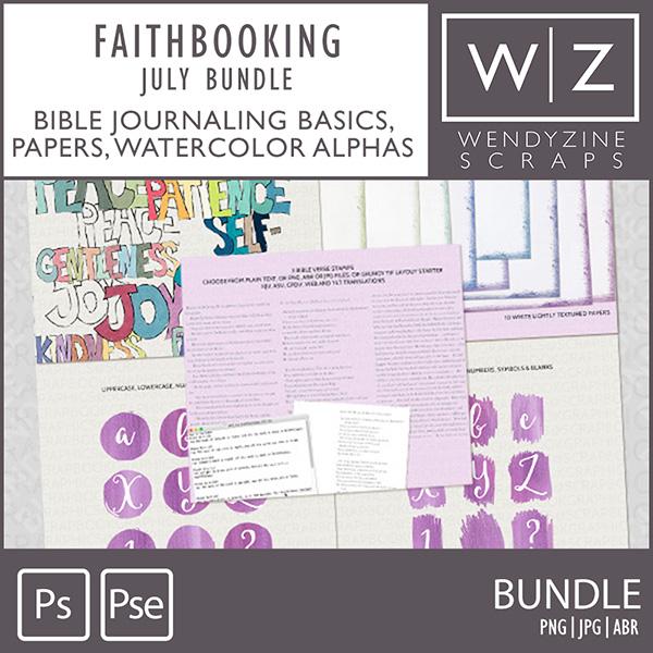 FAITHBOOKING: July Bundle