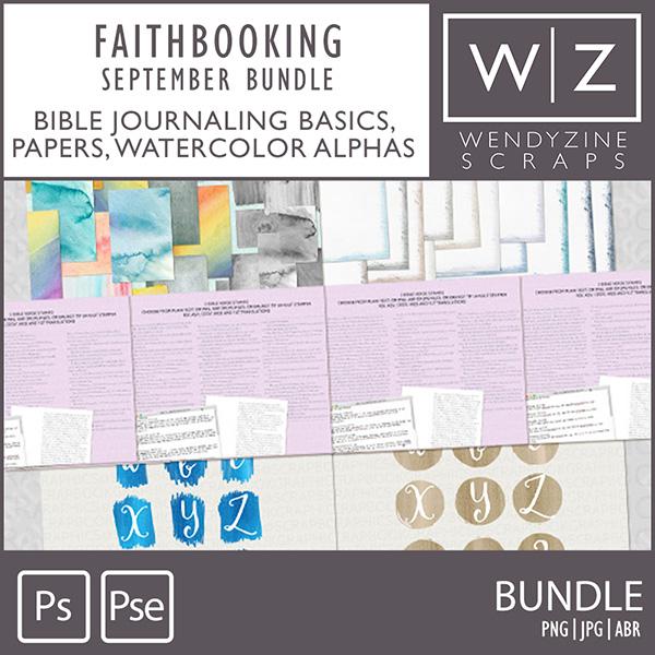 FAITHBOOKING: September Bundle