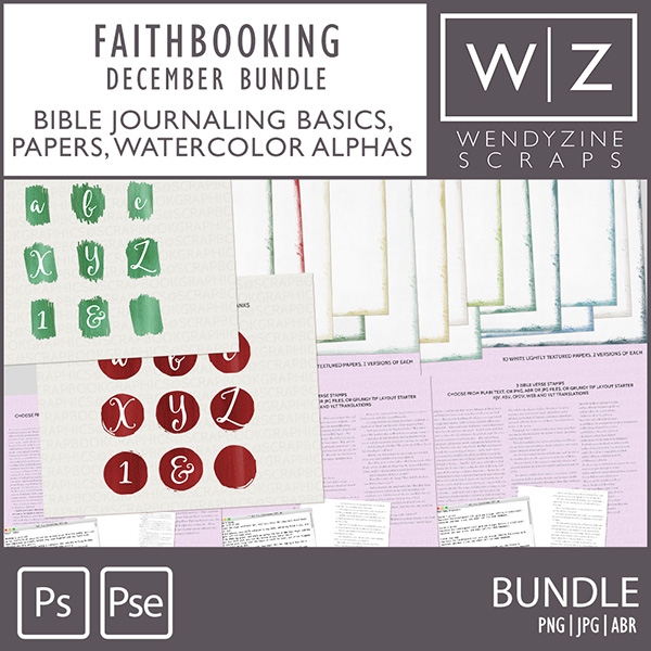 FAITHBOOKING: December Bundle