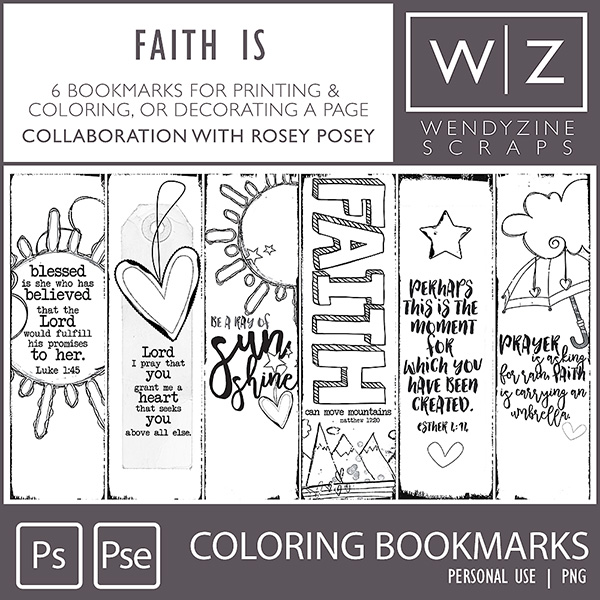 Bookmarks by Wendyzine Scraps