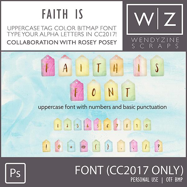 FONT: Faith Is (CC2017 Only)