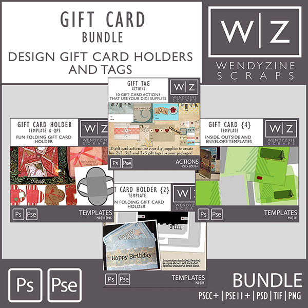 BUNDLE: Gift Card Holders & Tags