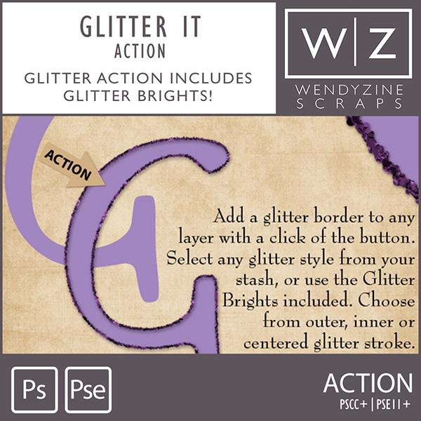 ACTION: Glitter It