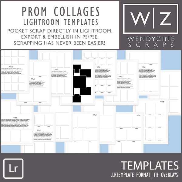 TEMPLATES: Prom {Lightroom Edition}
