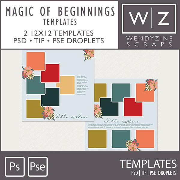 TEMPLATES: Magic of Beginnings