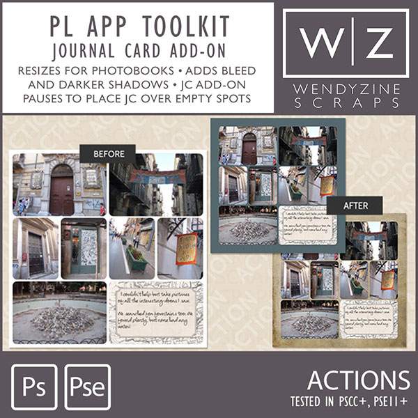 TOOLKIT: Project Life App Journal Card Add-On