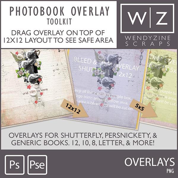 PHOTOBOOK TOOLKIT: Photobook Overlays 2018
