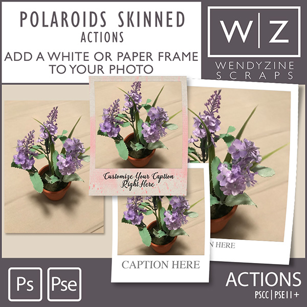 ACTION: Polaroids Skinned