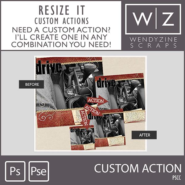 ACTION: Resize Custom