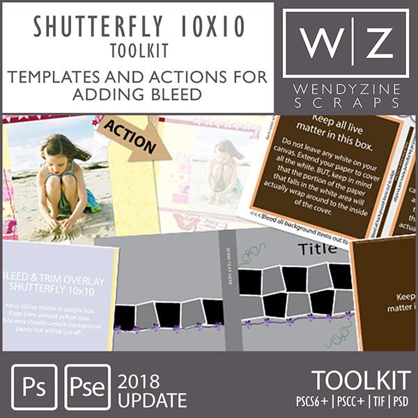 PHOTOBOOK TOOLKIT: Shutterfly 10x10 2018