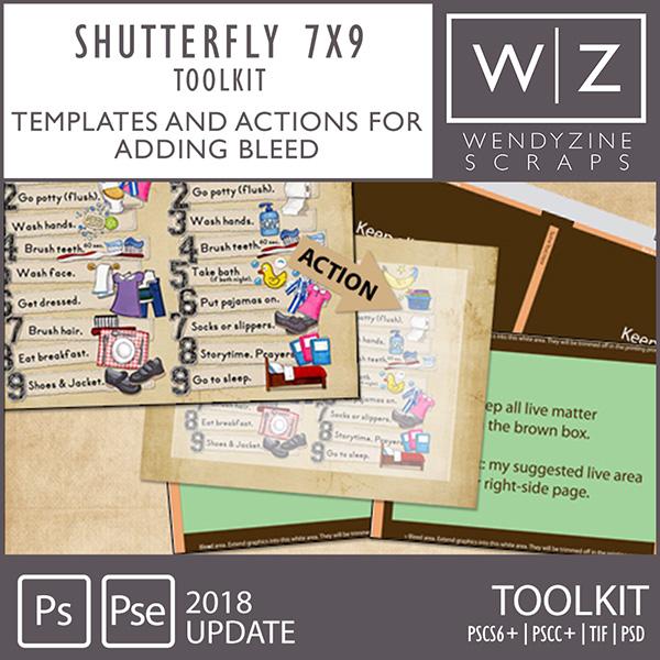 PHOTOBOOK TOOLKIT: Shutterfly 7x9 2018