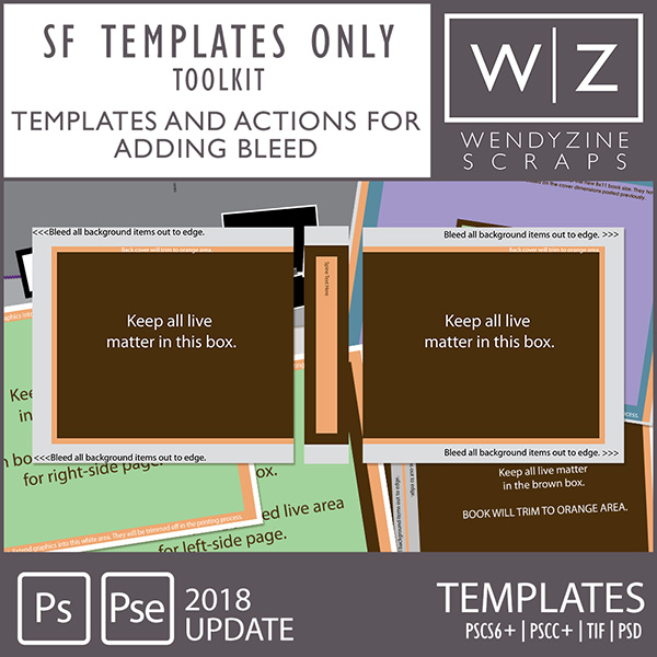 PHOTOBOOK TOOLKIT: Shutterfly Templates Only 2018