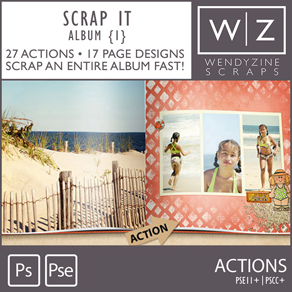 ACTION: Scrap It Album 1