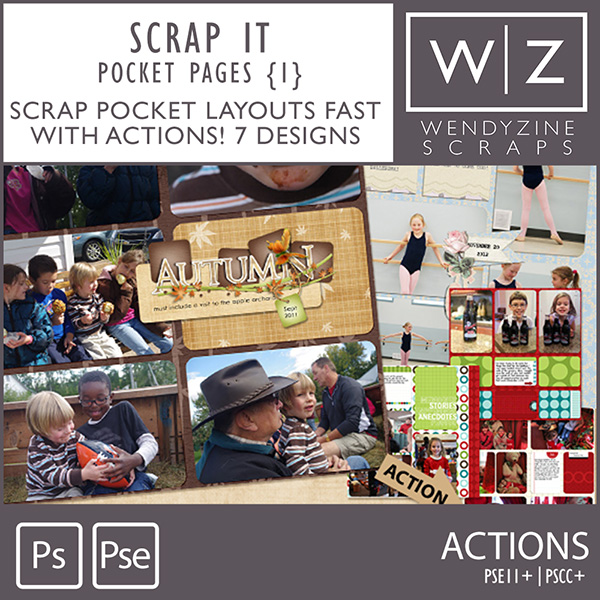 ACTION: Scrap It Pocket Pages {1}