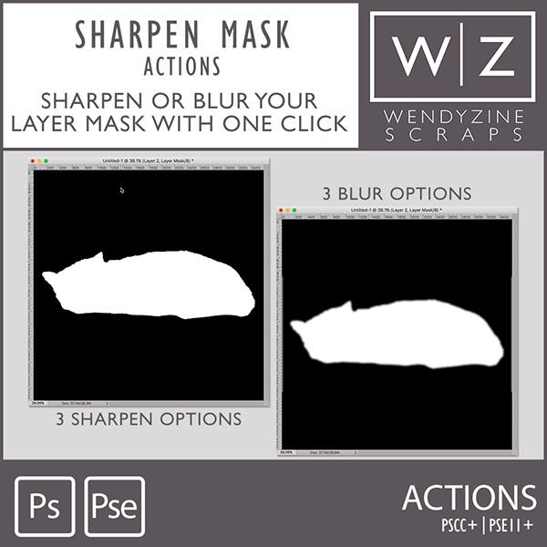 ACTION: Sharpen Mask