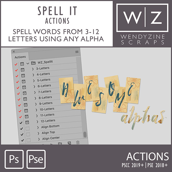 ACTION: Spell It