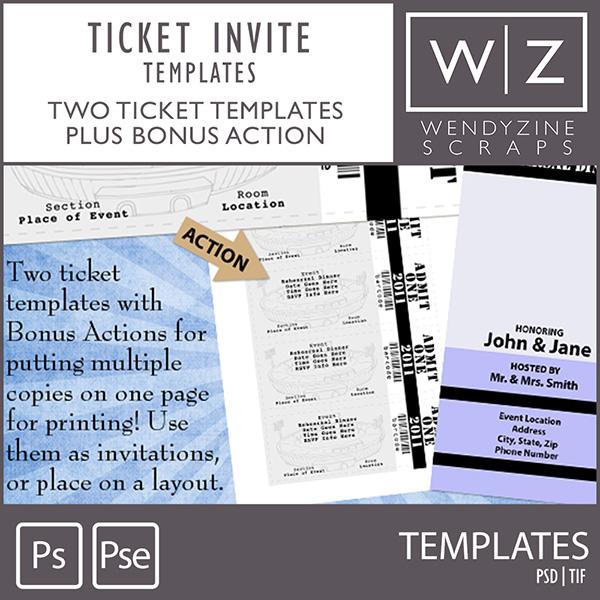 TEMPLATES: Ticket Invite