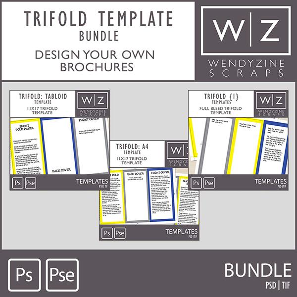 BUNDLE: Trifold Templates