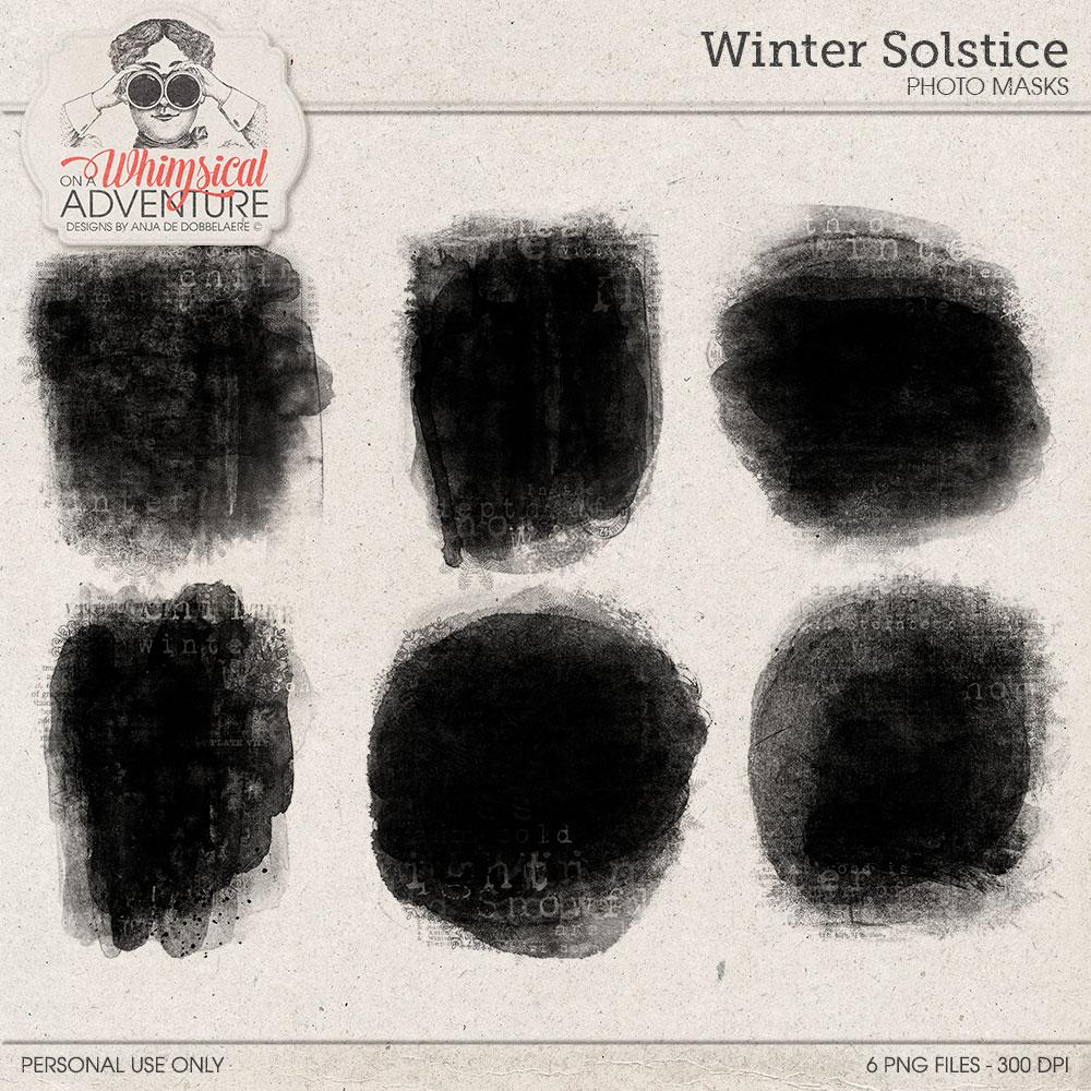Winter Solstice Photo Masks