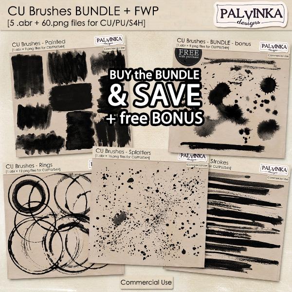 CU Brushes BUNDLE + free Bonus with purchase