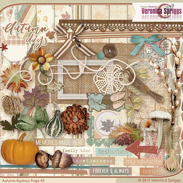 Autumnal Equinox Page Kit