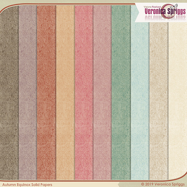 Autumnal Equinox Papers Solids