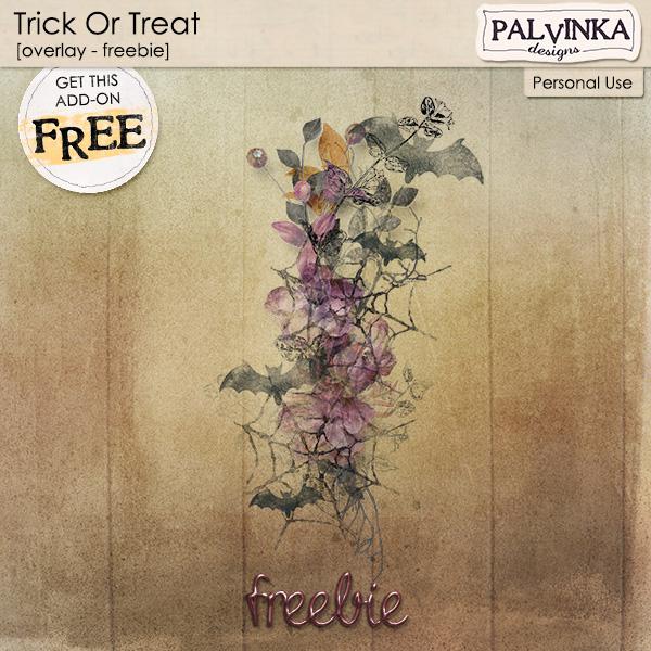 Trick Or Treat - Overlay - Freebie