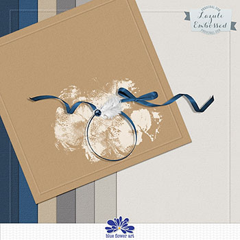 Lazuli Embossed Papers