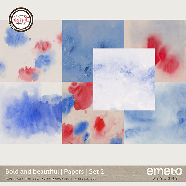 Bold and beautiful - Papers | Set 2