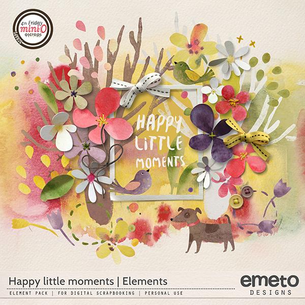 Happy little moments - elements