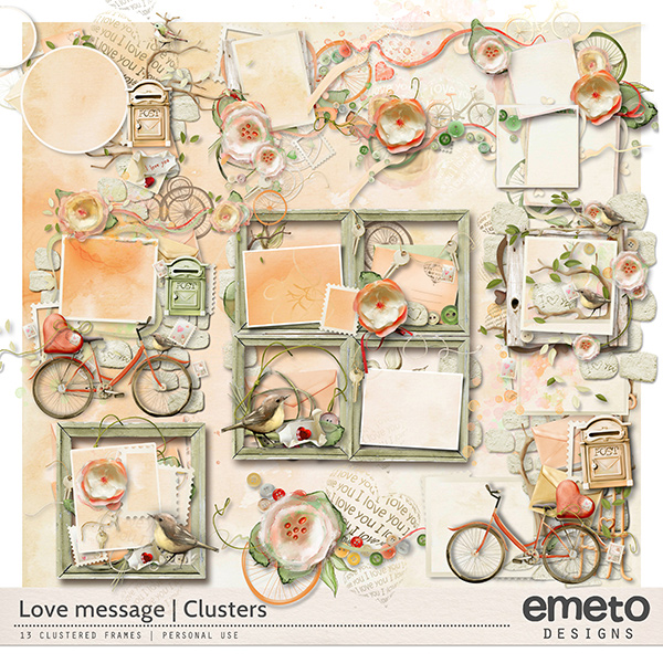 Love Message - clusters