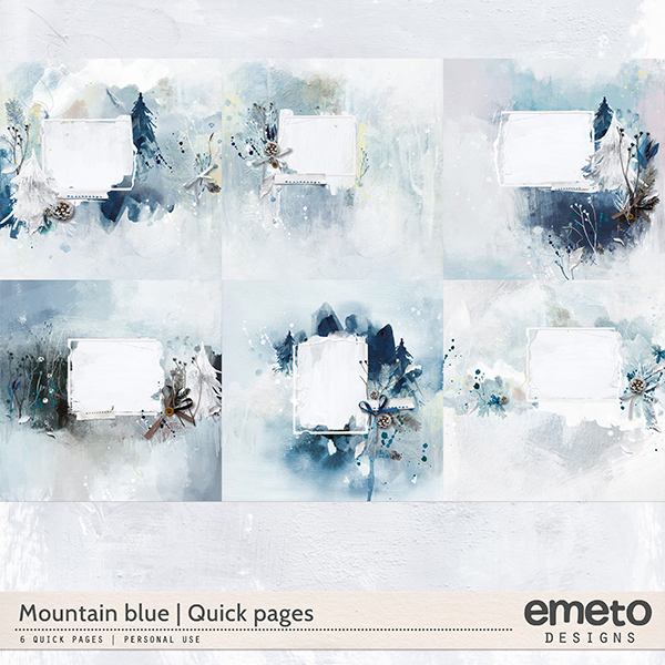 Mountain blue - quick pages
