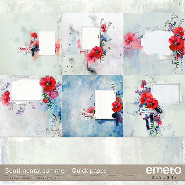 Sentimental Summer - Quick Pages