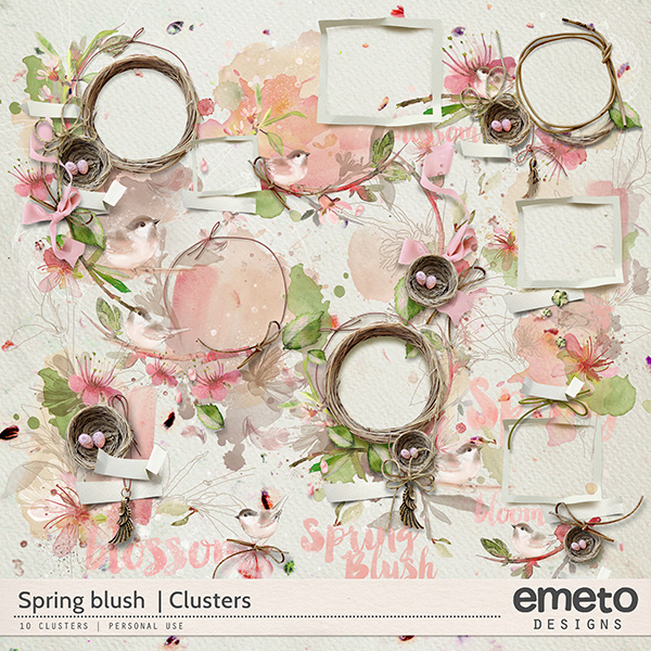 Spring Blush - clusters
