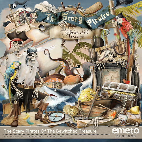 The Scary Pirates Of The Bewitched Treasure