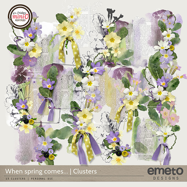 When spring comes...Clusters