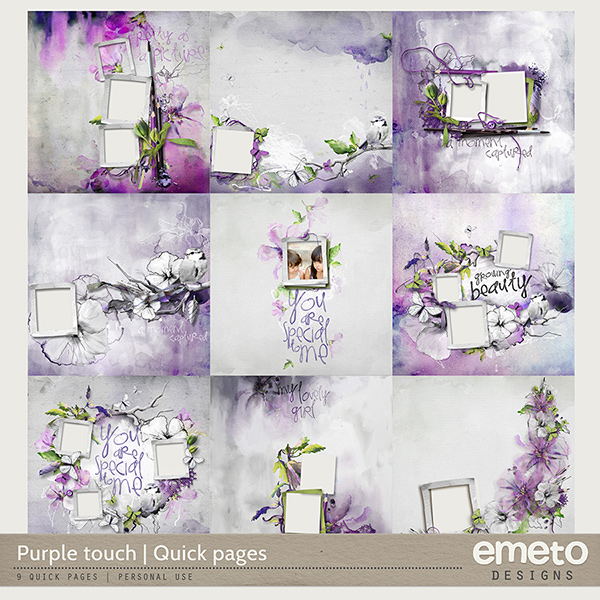 Purple touch - Quick pages