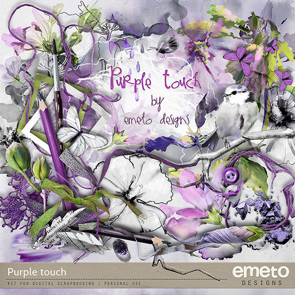Purple touch